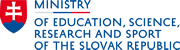 Ministry of Education, science, research and sport of the Slovak Republic
